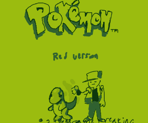 Pokemon Red for the Game Boy Colour
