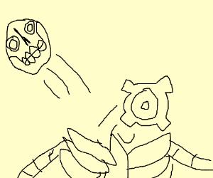 Robot missing a gear