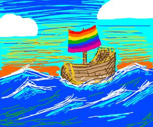 Gay pride pirates