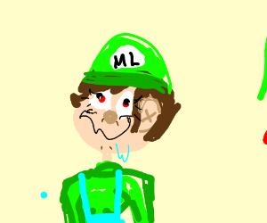 "Luigi's long lost retarded Sister ""MLuigia"""