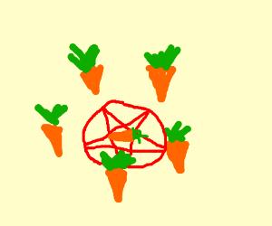 Carrots make ritual sacrifices