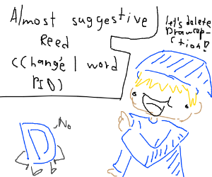 Almost suggestive castiel (change 1 word PIO)