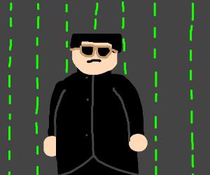 Kim Jong Un plays Neo in new The Matrix Remake