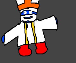 Pope-a Smurf