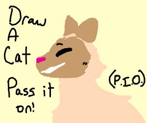 Draw a Cat PIO =o.o=