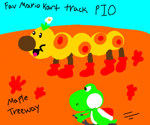Favorite Mario Kart Track PIO