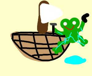 Slippy Toad fixing Ship