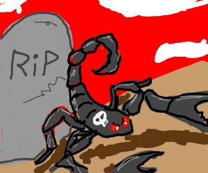 evil death scorpion