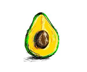 A painting of a fruit