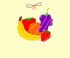 a bunch of fruit