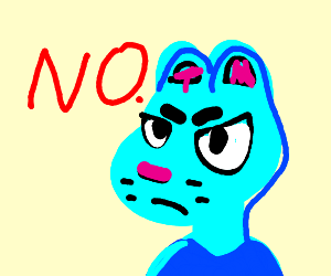 Gumby says no