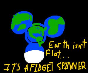 Space fidget spinner
