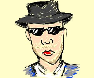 Indiana Jones wearing cool guy shades