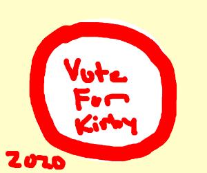 kirby runs for president