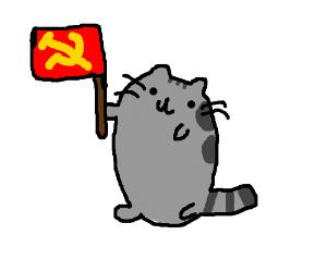 Communist Pusheen