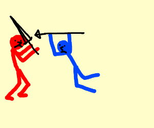 red guy vs blue guy
