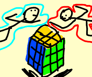 WCA competition (wca=world cubing association