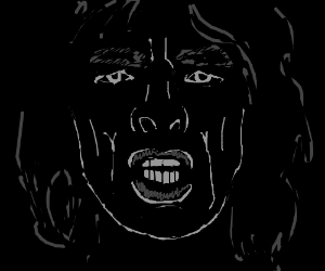 Mick Jagger in shadow