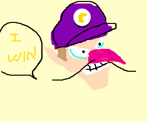 waluigi places first