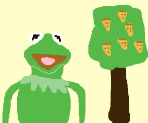 """Kermit """"Pizza Tree"""""""