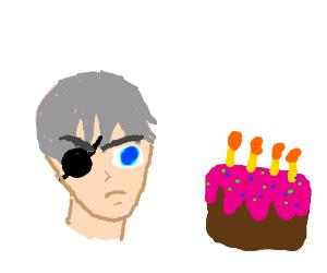 Ciel Phantomhive hates his birthday