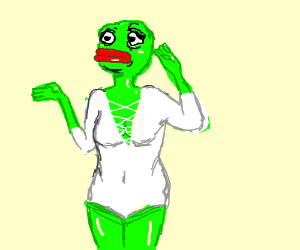 Female Pepe for some reason