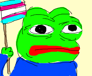 Trans Pepe the frog