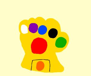 Infinity Gauntlet (all the stones + 2 more)