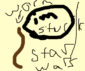 Giant Worm! - Drawception