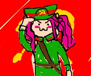 Communist Anime Drawception