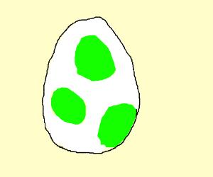 Yoshi Egg Drawing By Guy420911