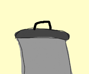 a pot with a lid on it