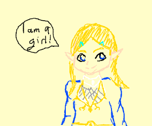 What if Zelda was a girl?