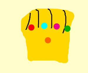 Fingers of the Infinity Gauntlet