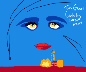 The Great Gatsby Book Cover PIO