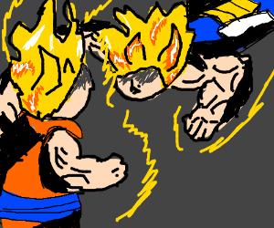 Super Saiyan Battle