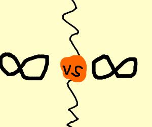 Infinity vs Infinity Death battle