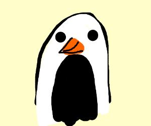 Happy little penguin!