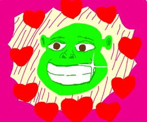 Everyone crushing on Shrek