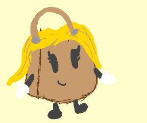 woman + bag = [your choice]