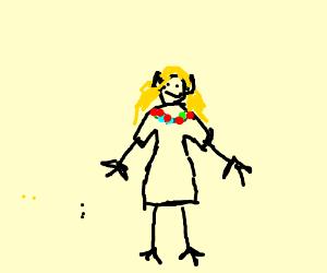 kawaii elf girl
