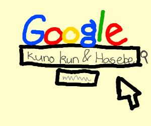 Googling Kuno kun & Hasebe
