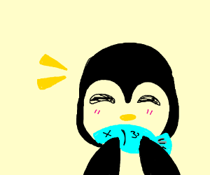 Draw a penguin?