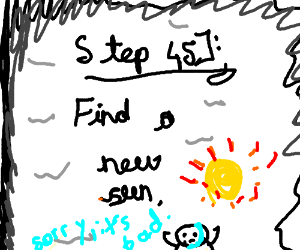 Step 44: call your mommy and destroy the sun