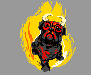 Devil Pug