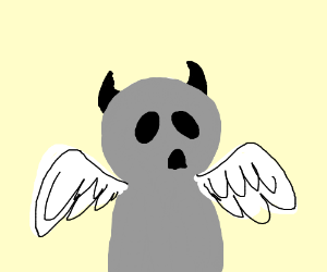 Apollyon from Binding of Isaac