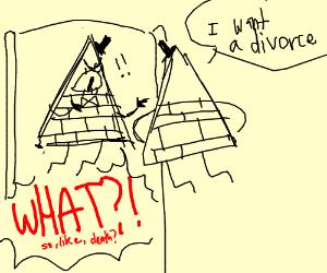 bill cipher divorces bill cipher