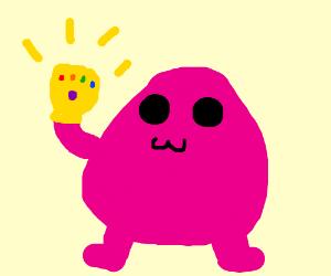 That purple McDonalds guy uses Infinity Stones