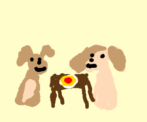 Lady And The Tramp Spaghetti Scene Drawception
