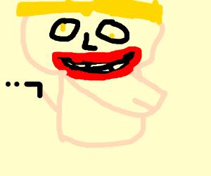 Duke Nukem with Xtra lips, Xtra Jaw, lil gun